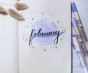 february and bullet journal image