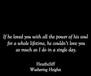 quotes, book, and wuthering heights image