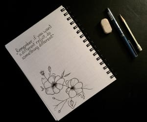 draw, flowers, and motivation image