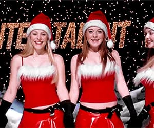 christmas, gif, and mean girls image