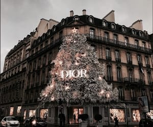 christmas, dior, and paris image