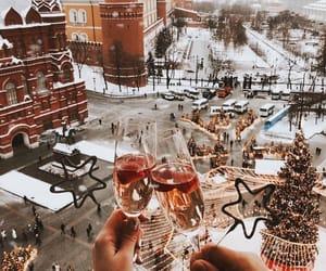beauty, christmas, and city image