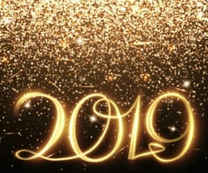 2019, new year, and happy new year image