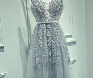 evening dresses, pretty prom dress, and a-line evening dresses image