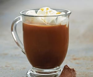 beauty, drink, and hotchocolate image