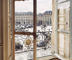 paris, france, and snow image