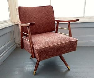 danish modern, etsy, and rocking chair image