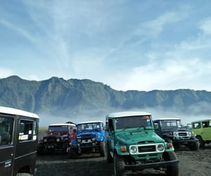indonesia, mountain, and east java image