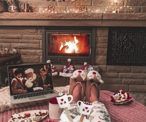 christmas, cozy, and merry christmas image