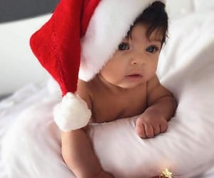 babe, baby, and christmas image