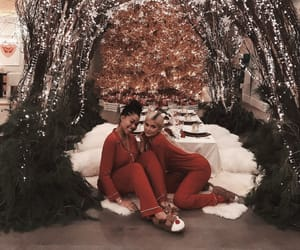 kylie jenner, best friends, and christmas image