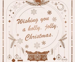 christmas, merry christmas, and snowflakes image