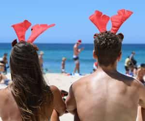 australia, beach, and body image