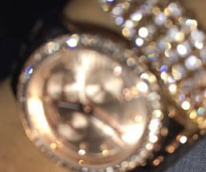 blingbling, watch, and wrist image