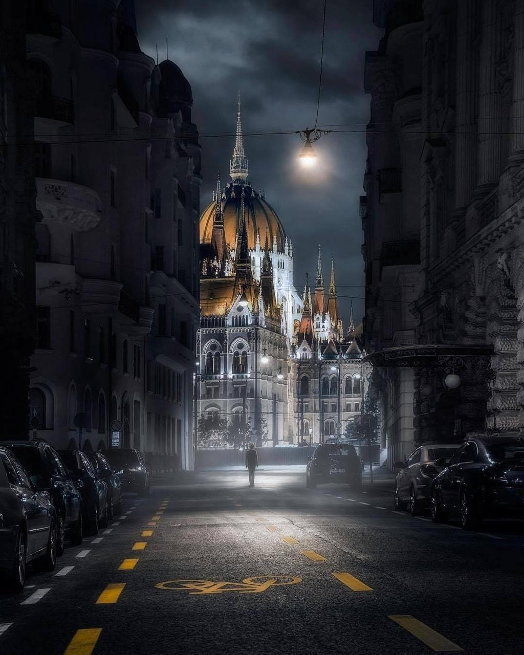 arquitectura, lugares, and nocturno image