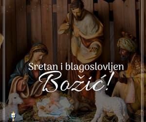 christmas, bozić, and joy image