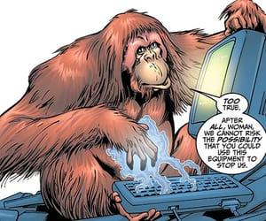 ape, Marvel, and comics image