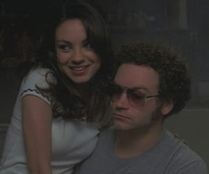 that 70s show, 90s, and couple image