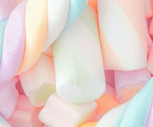 wallpaper, candy, and marshmallow image