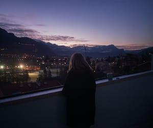 sky, night, and tumblr image