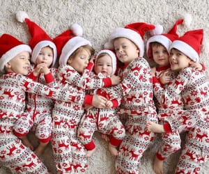 babies, merry christmas, and children image