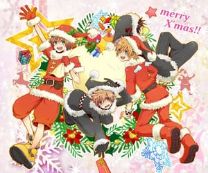 boys, christmas, and sora image