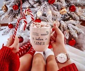 christmas, holiday, and red image