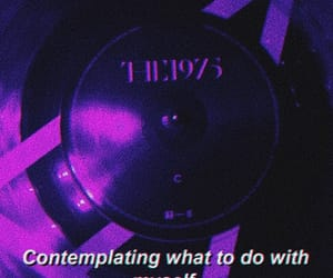 aesthetic, purple, and the 1975 image
