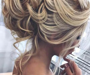beauty, hair, and blonde image