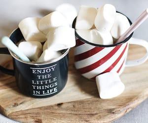 marshmallow, christmas, and yummy image