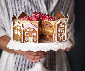 sweet, cake, and christmas image
