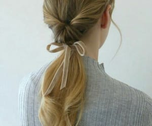 hair, hairstyle, and low image