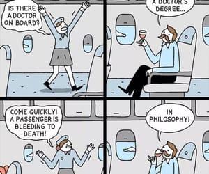 airplane, artists, and bleeding image