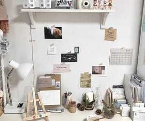 aesthetic, desk, and inspo image