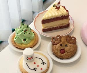 aesthetic, cake, and cookie image