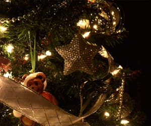 christmas, decorations, and tree image