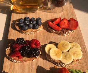 avocado, platter, and sunlight image