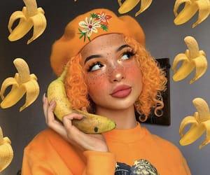 orange, girls, and makeup image