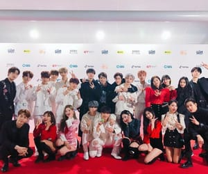girl group, JYP, and boy group image