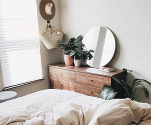 bag, plants, and bed image