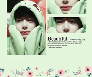 kpop edit, soft edit, and hyungwon image