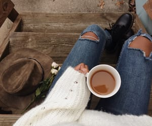 coffee, indie, and sweater weather image