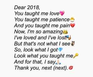 Lyrics, new year, and by me image