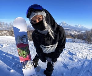 shred, snow, and snowboard image