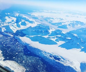 flight, travel, and greenland image