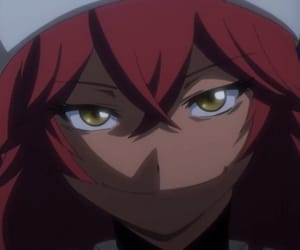 girl, red hair, and overlord image