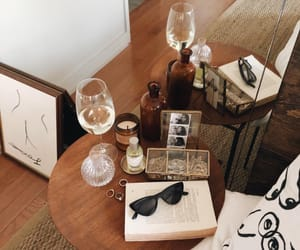 wine, decor, and room image