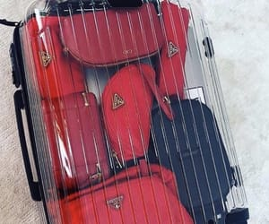 clear, travel, and luggage image