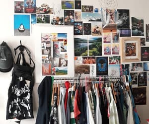 bedroom, clothes, and Collage image