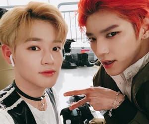 taeyong, nct, and chenle image